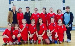 Женская команда по мини-футболу (город Истра)