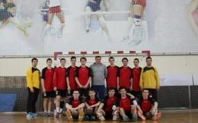 Матчевая встреча по гандболу в Протвино