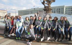 Международный турнир по гандболу среди девушек 2000 г.р. в Минске