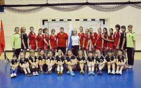 Чемпионы Московской области - девушки 2000 и серебряные призеры девушки 2001