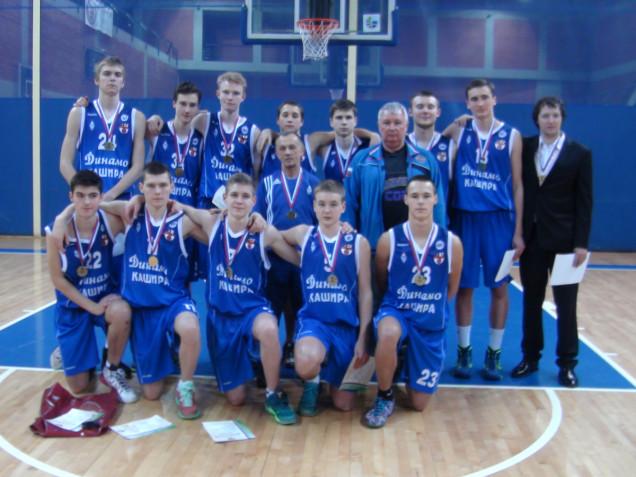 Бронза первенства России у баскетболистов Подмосковья