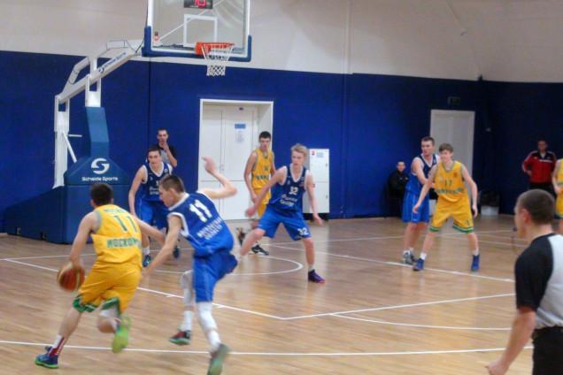 Финальный этап Первенства России по баскетболу среди юношей 2000 г.р.