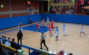Подмосковные баскетболисты одержали третью победу в Первенстве России