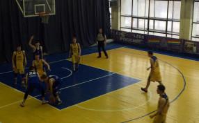 Финал первенства МО по баскетболу