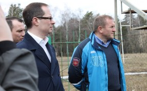 Завершение строительства регбийного стадиона в Монино планируется в 2018 году