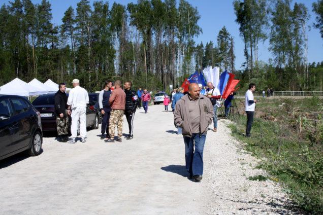 Лес Победы 2016 Щелково