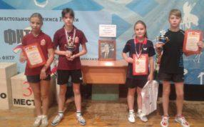 Всероссийские соревнования по настольному теннису среди ДЮСШ и СДЮСШОР
