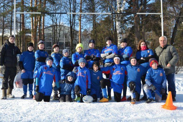 Зимний фестиваль по регби среди команд 2004 г.