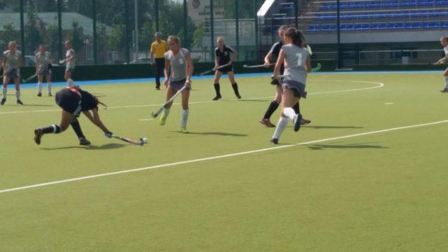 Вторая игра на Первенстве России по хоккею на траве среди девушек