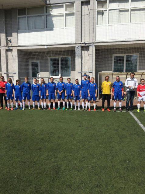 Подготовки к Первенству России по футболу среди женских команд завершилась победой