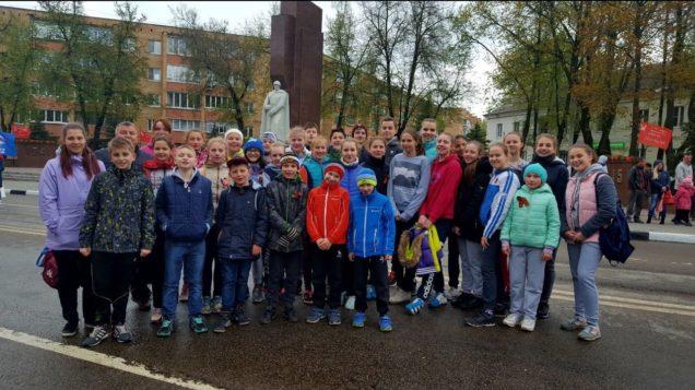 Воспитанники приняли участие в 5 ом легкоатлетическом пробеге
