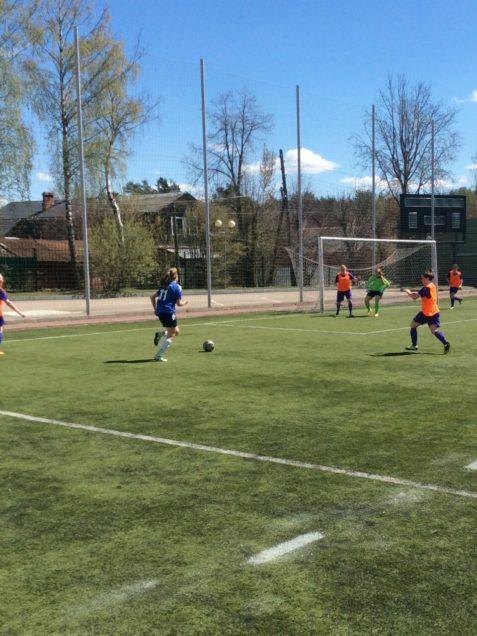 В г. Красноармейск прошёл первый тур Чемпионата Московской области по футболу