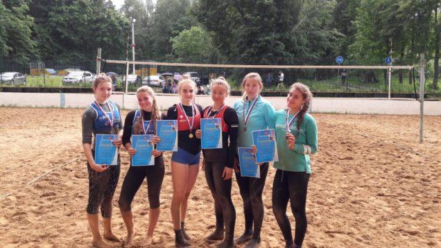 В г.Солнечногорске проходил 2 этап первенства Московской области по пляжному волейболу