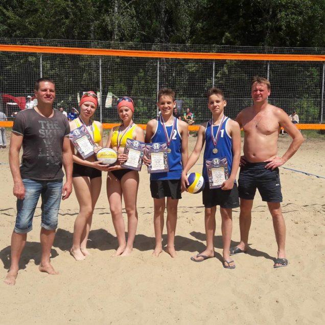 Первенство ЦФО России по пляжному волейболу среди юношей и девушек