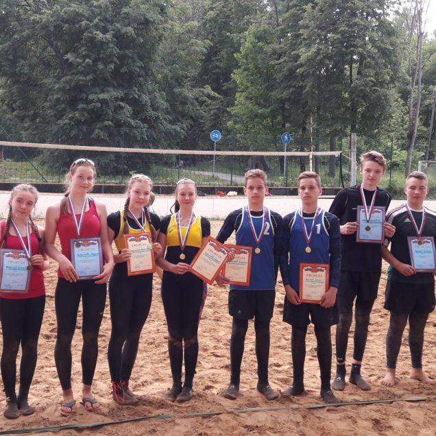 Солнечногорске проходил 2 этап первенства Московской области по пляжному волейболу