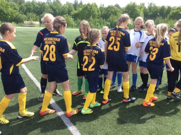 9,10 июня прошли календарные игры на Первенство Московской области по футболу среди девичьих команд.