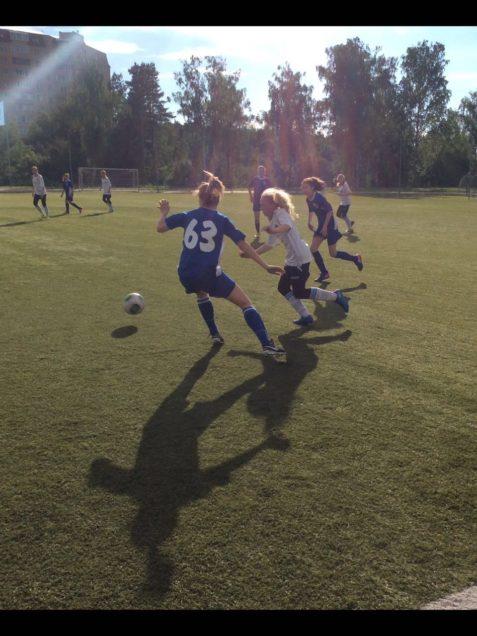 17 июня 2017 г. состоялась игра Первенства Московской области по футболу среди девушек