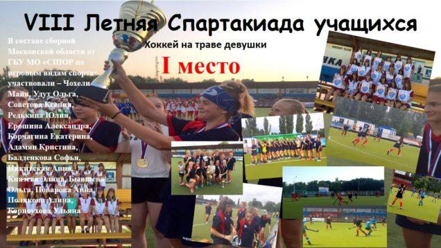 Восьмая Летняя Спартакиада учащихся