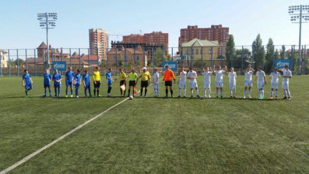 г. Астрахань состоялась первая игра Первенства России по футболу среди юношеских команд