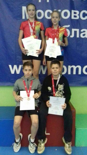 Бадминтонисты стали победителями и призерами Первенства Московской области!