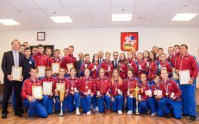 В Министерстве физической культуры и спорта Московской области состоялось награждение знаком отличия