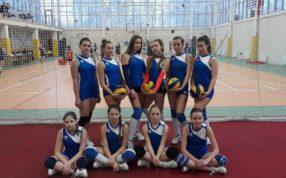 Прошел 1 этап Первенства МО по волейболу среди девушек