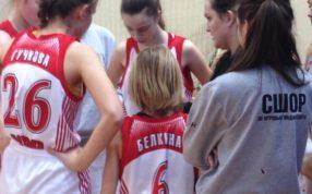Сегодня состоялись две встречи в рамках Первенства Московской области среди команд девушек