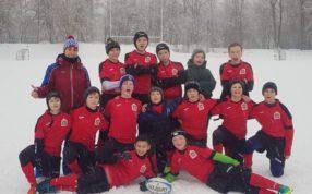 В южном Тушино прошёл зимний фестиваль по регби среди мальчиков