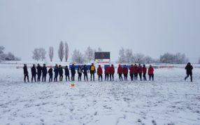 На стадионе «Янтарь» г. Москва провели товарищеские игры с ФК Строгино