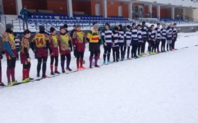 18 февраля в Зеленограде прошёл зимний кубок Москвы по регби