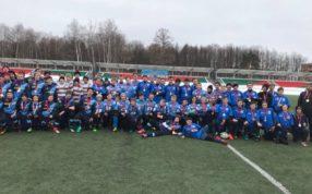 Прошел второй тур Первенства Московской области по регби среди команд мальчиков
