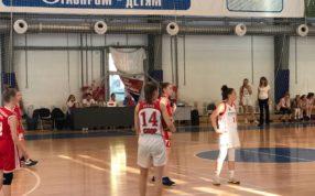 В г. Самара продолжается финал Всероссийских соревнований по баскетболу среди команд девушек