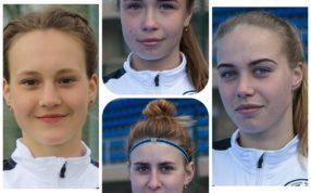 Четырём спортсменкам отделения хоккей на траве присвоено звание