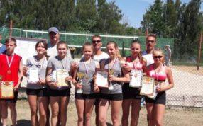 Прошли соревнования на первенство ЦФО России по пляжному волейболу