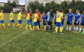 В г. Пушкино Московской области,состоялась календарная игра Первенства России по футболу среди женских команд