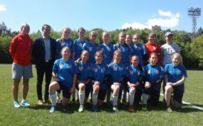 Команда ГБУ МО «СШОР по игровым видам спорта» одержала победу