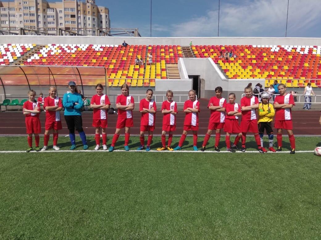 22 июня 2018 г. состоялись календарные игры Первенс тва России по футболу среди девичьих команд
