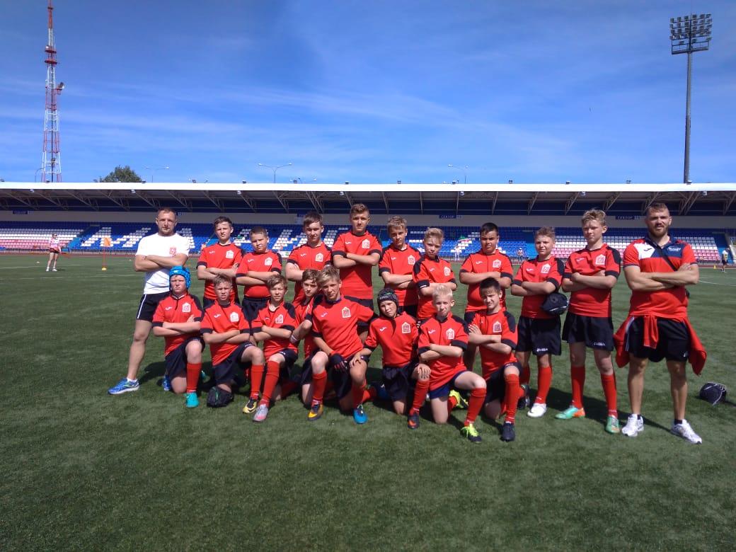 С 18 по 22 июня в г.Йошкар-Ола прошёл Всероссийский  турнир по регби среди команд мальчиков