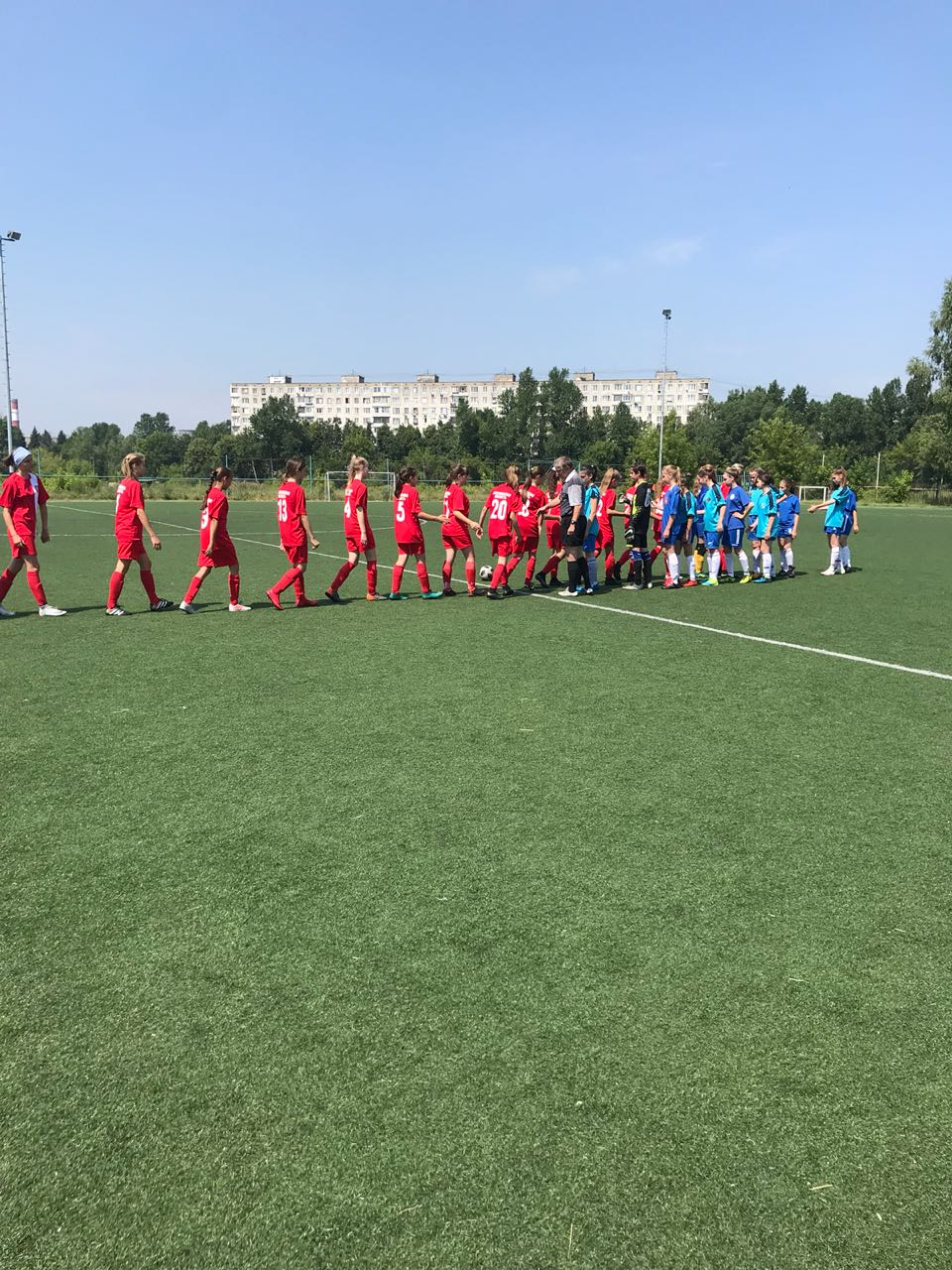 Команда ГБУ МО «СШОР по игровым видам спорта» оде ржала победу со счётом 10:1.