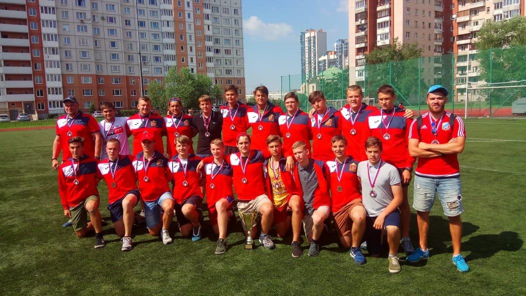 в г.Санкт-Петербурге завершились Всероссийские  соревнования по регби среди юношей до 17 лет