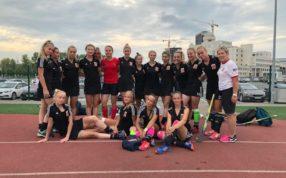 Сборная команда Московской области (девушки) одержала победу над Сборной командой Свердловской области