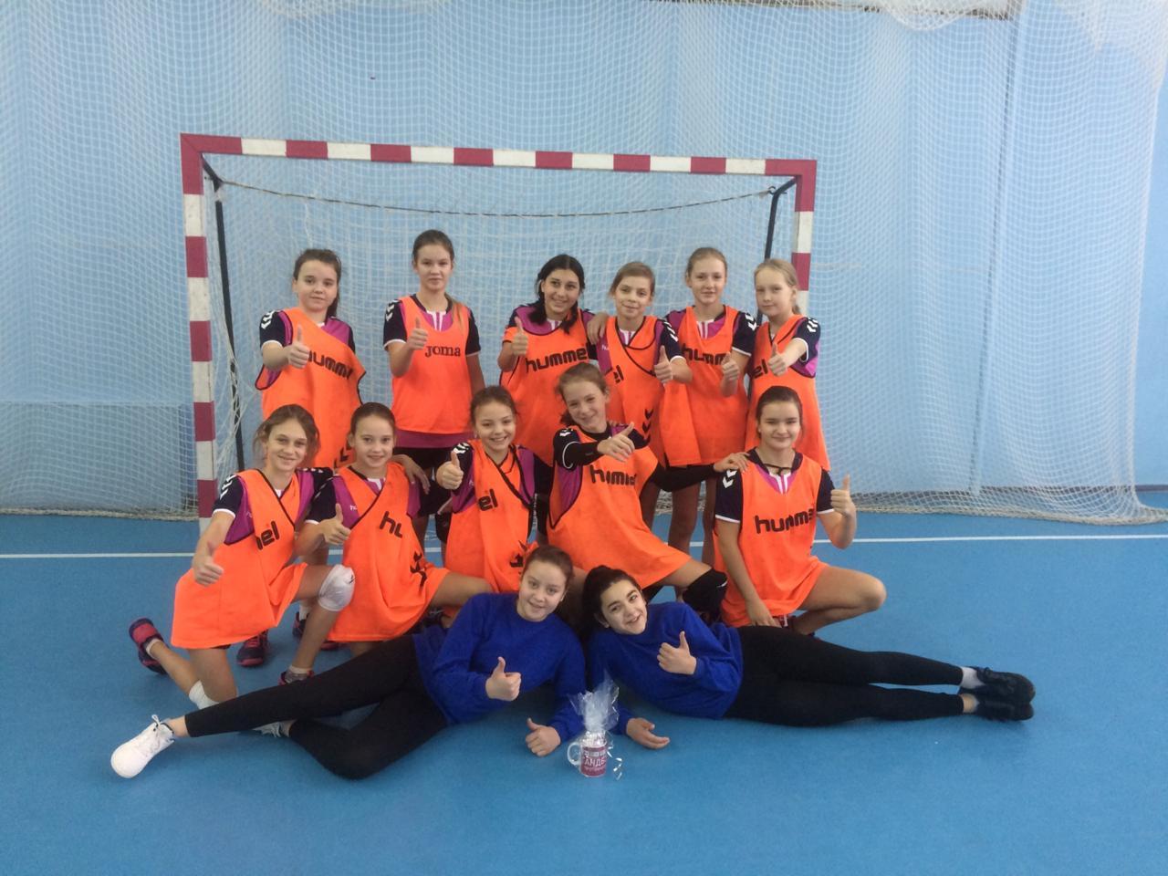 В г. Протвино завершился 1 круг Первенства Москов ской области по гандболу среди девушек 2006 г.р.
