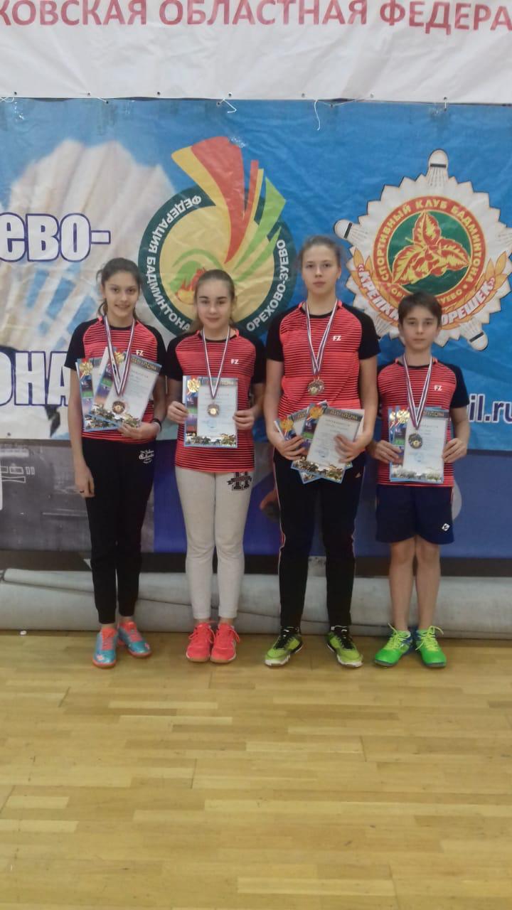 Всероссийские юношеские соревнования по бадминт ону, посвящённые памяти заслуженного тренера Ро ссии Ю.И. Дорофеева
