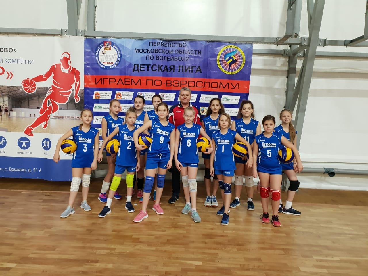 1 этап Первенства МО по волейболу Детская лига ср еди девушек 2007-2008 г.р.