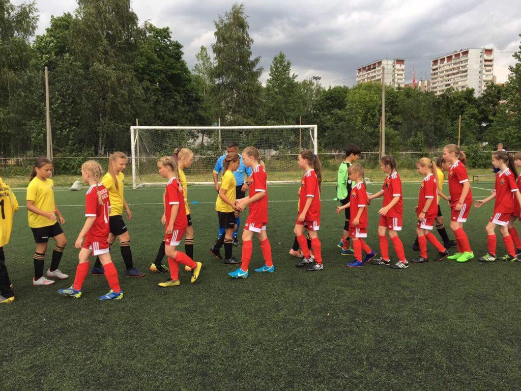 Итоги Первенства Московской области по футболу среди девичьих команд 2007 г.р.