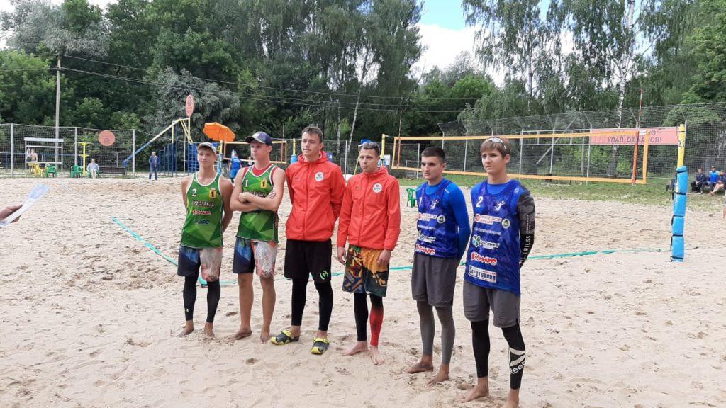 Отборочные соревнования по пляжному волейболу среди команд девушек и юношей 2001-2002 г.р