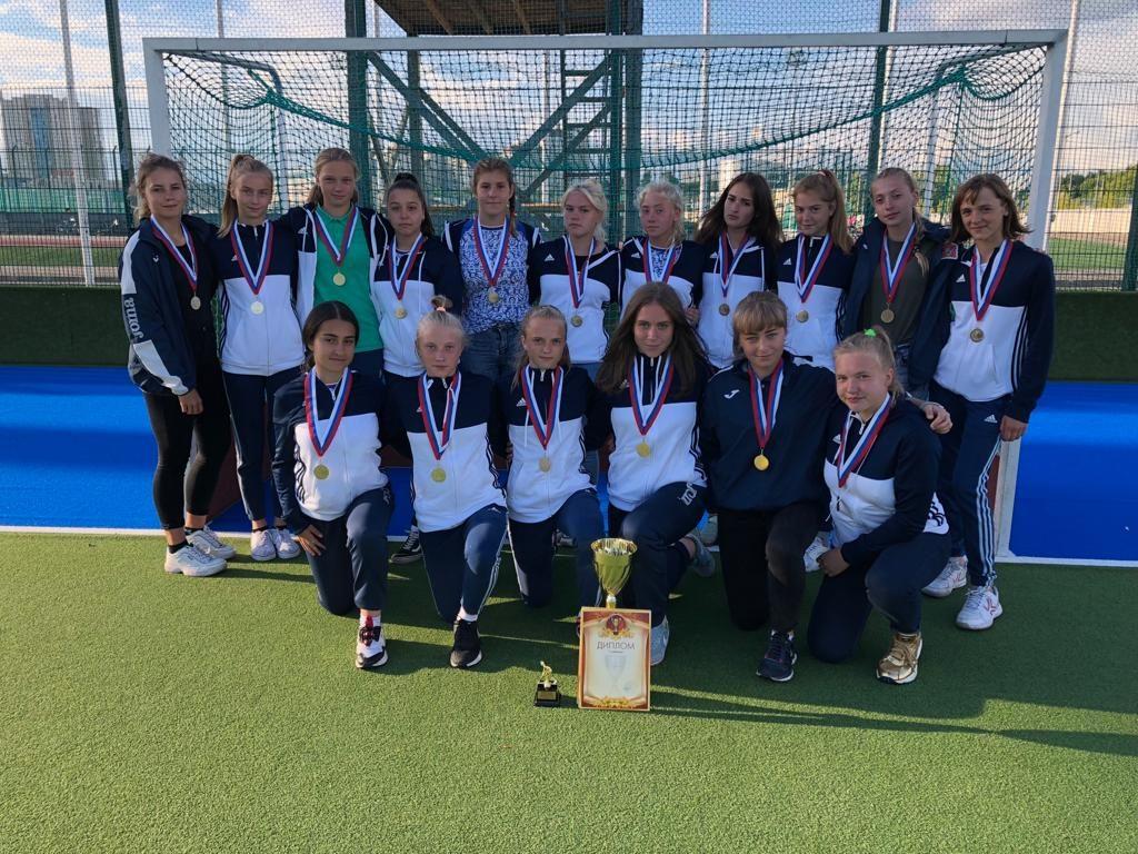 Завершилось Первенство России по хоккею на траве среди девушек 15-16 лет