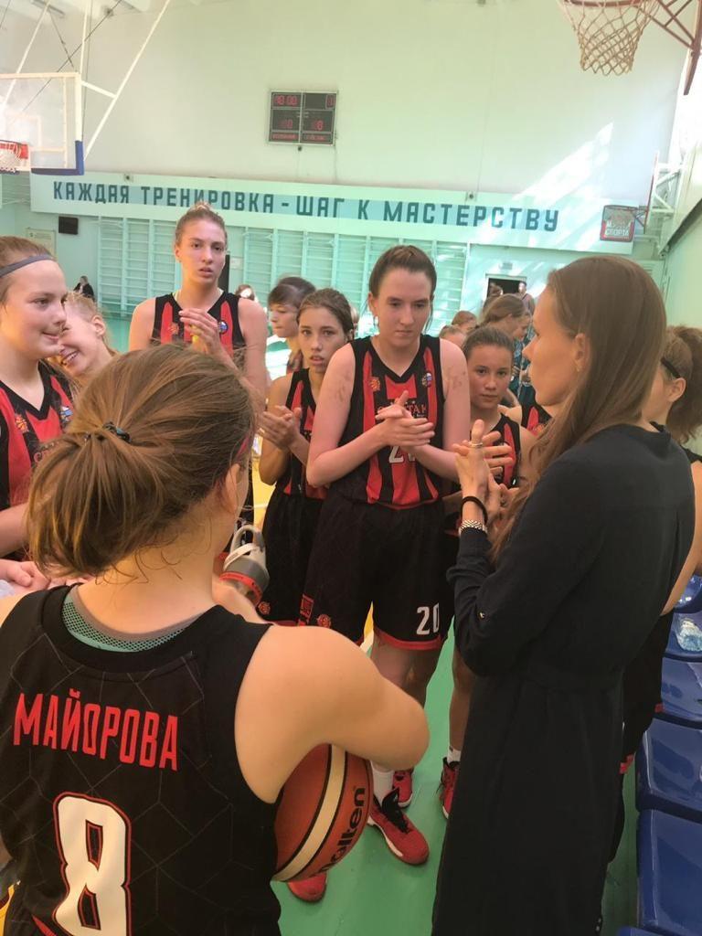 Завершились отборочные соревнования Московской области по баскетболу к Всероссийским соревнованиям среди команд девушек до 15